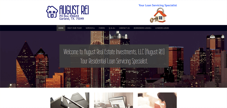 August Real Estate Investments, LLC