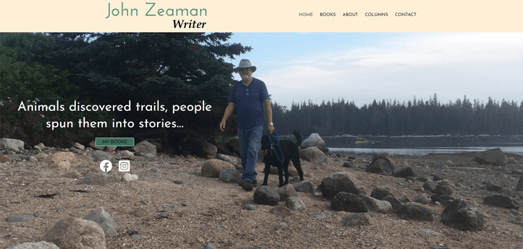 John Zeaman is an author, critic and artist